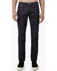 A.P.C.   Indigo Petit Standard Stretch Jeans   Lyst
