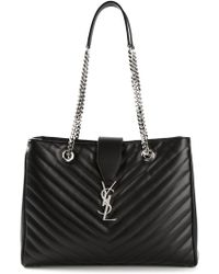 Saint Laurent Monogram Matelasse Shoulder Bag - Lyst