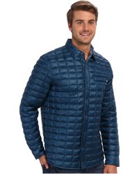 The North Face Reyes Thermoball Shirt Jacket - Lyst