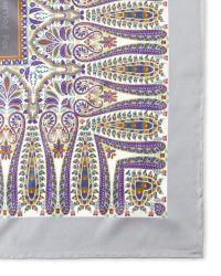 Pollini - Square Silk Scarf - Lyst