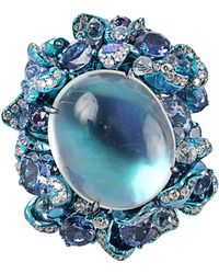 Arunashi | Moonstone Ring | Lyst