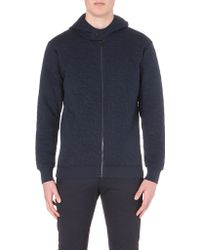 G-star Raw Quilted Hoody  - Lyst
