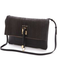 Michael Kors Collection Miranda Novelty Bonded Clutch - Lyst