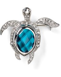 Carolee Turtle Pin - Lyst