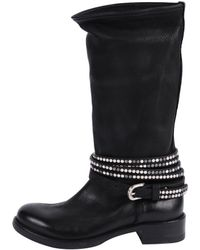 Kobra | Tall Studded Wrap Boot | Lyst