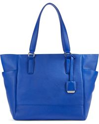 Kenneth Cole Nevins Textured Leather Tote - Lyst