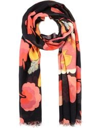 Stella McCartney Stella Greetings Print Scarf multicolor - Lyst
