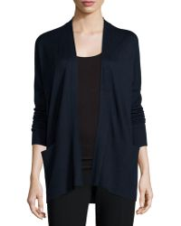 Vince   Cashmere-silk Open-front Cardigan   Lyst