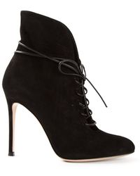 Gianvito Rossi Ricca Heeled Boots - Lyst
