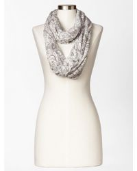 Gap Floral Burnout Infinity Scarf - Lyst