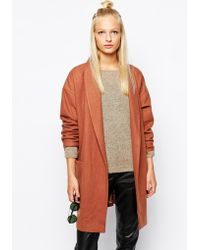 Selected Becca Wrap Coat With Belt - Lyst