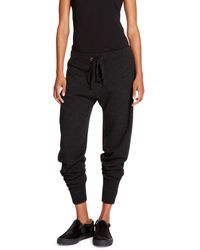 DKNY Jeans Premium Knit Track Pant - Lyst
