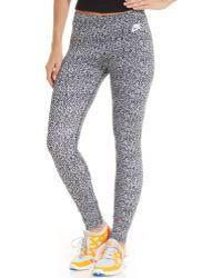 Nike Leg-a-see Printed Leggings - Lyst