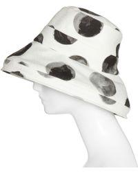 Dolce & Gabbana Polka-Dot Cotton Hat - Lyst