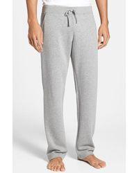 Canali Men'S Cotton Blend Lounge Pants - Lyst