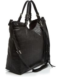 Etienne Aigner - Charlotte Embossed Convertible Tote - Lyst