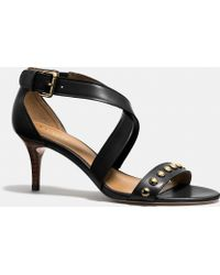 Coach Black Madison Heel - Lyst