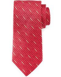 Robert Graham - Rigid Tonal-stripe Woven Tie - Lyst