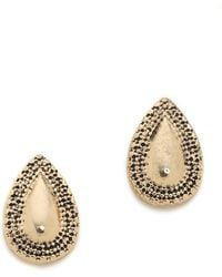 Samantha Wills - World From Here Stud Earrings - Antique Gold - Lyst