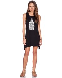 Mate The Label - Syd Whiskey Rye Tank Dress - Lyst