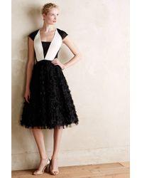 Sachin & Babi Textured Tuxedo Dress - Lyst