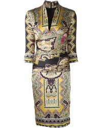 Etro Printed Dress - Lyst