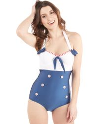 Fables By Barrie - Transmarine Dreams One-piece Swimsuit - Lyst