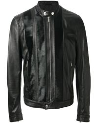 DSquared² Leather Jacket - Lyst