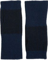 Barneys New York Knit Arm Warmers - Lyst