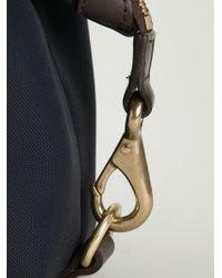 Mismo - Leather Trim Wash Bag - Lyst