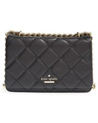 Kate Spade 'Emerson Place - Mini Vivenna' Quilted Leather Crossbody Bag - Lyst