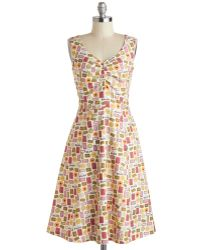 ModCloth A Biscuit A Basket Dress - Lyst