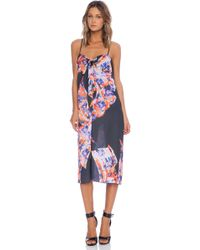 Clover Canyon Spanish Shawl Tank Dress - Lyst