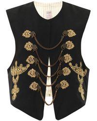 Jean Paul Gaultier - Chain Embroidery Vest - Lyst