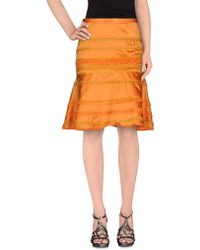 Boutique Moschino | Knee Length Skirt | Lyst