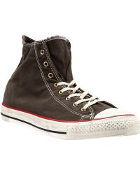 Converse Hitop Trainer - Lyst