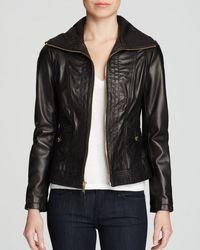 MICHAEL Michael Kors Mizzy Wing Leather Jacket - Lyst