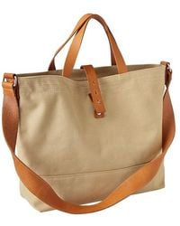 Gap Structured Canvas Tote - Lyst