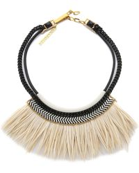 Fiona Paxton - Freja Necklace - Cream - Lyst