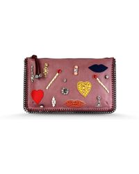 Stella McCartney Clutch Bag - Lyst