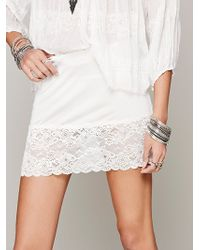 Free People Mini Slip - Lyst