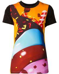 Manish Arora Sundae Graphic Tshirt - Lyst