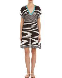 Missoni Vneck Coverup Dress - Lyst