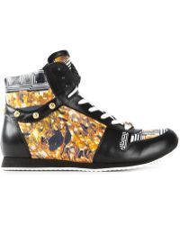 Versus  'Greca Tile' Hi-Top Sneakers - Lyst