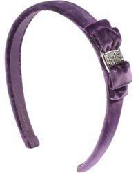 Ferragamo Hair Accessory purple - Lyst