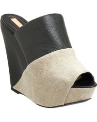 Narciso Rodriguez Wrapped Slipon Wedge - Lyst