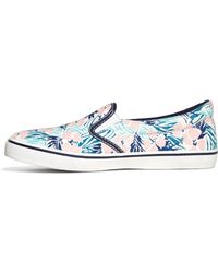 Brooks Brothers - Hibiscus Print Trainers - Lyst