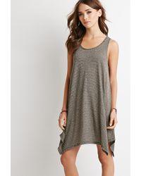 Forever 21 Classic Striped Mini Dress - Lyst