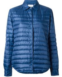 Aspesi Fitted Padded Jacket - Lyst