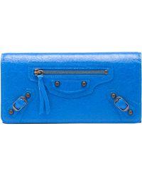 Balenciaga Blue Classic Money - Lyst